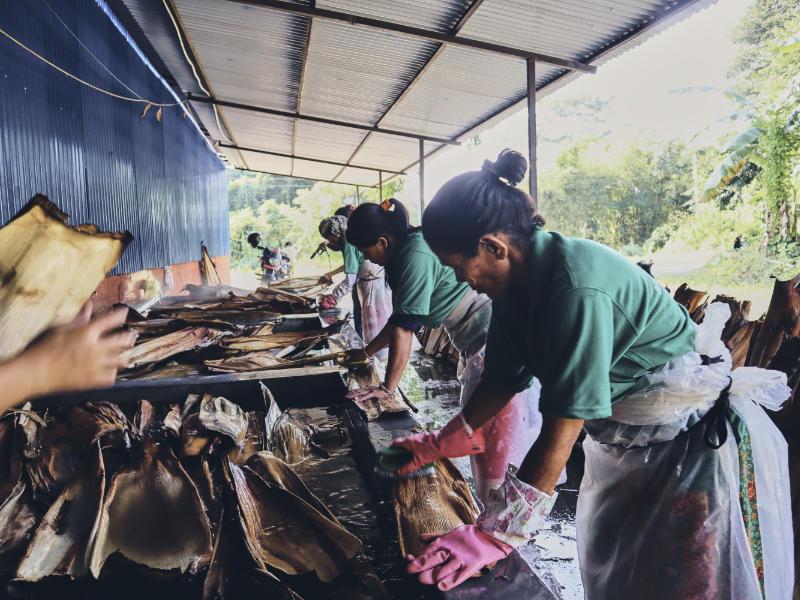 Pleta Produktion in Nepal